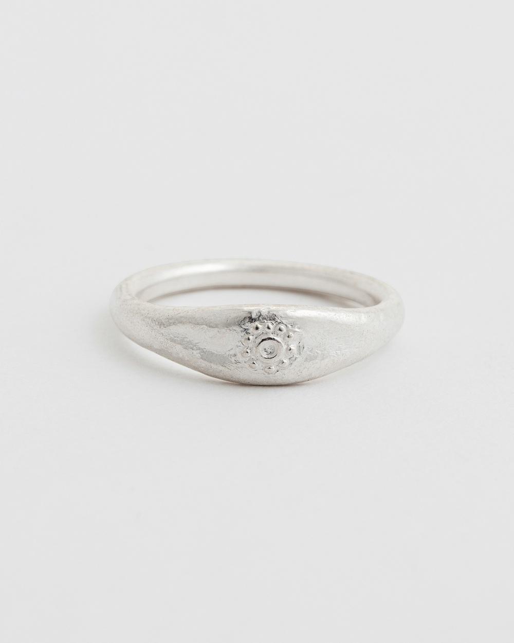 Kirstin Ash Desert Sun Ring Jewellery Silver