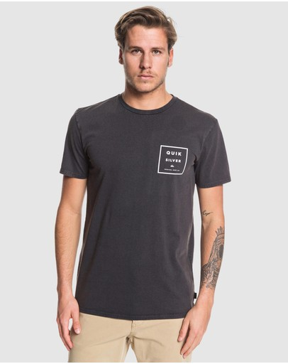 Quiksilver - Mens Squared Up T Shirt