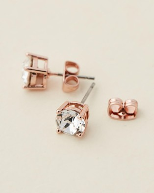 Mestige Sadie Set with Swarovski?« Crystals Jewellery Rose Gold