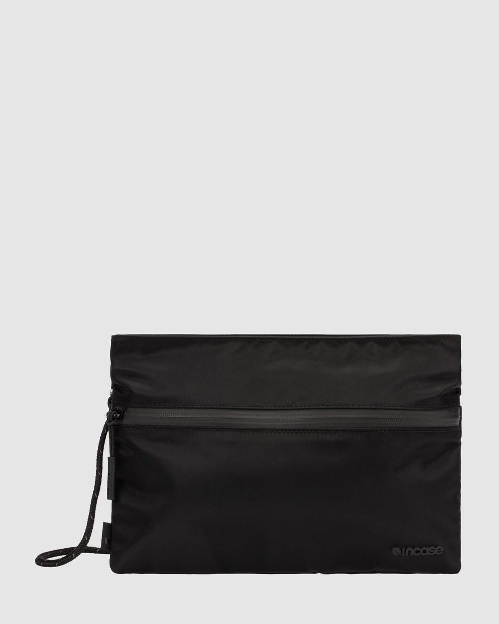 Incase Shoulder Pouch With Flight Nylon Bags Black