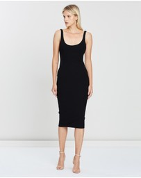 Alex Perry - Stretch Singlet Dress