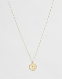 By Charlotte - Goddess of Air Gold-Plated Sterling Silver Necklace
