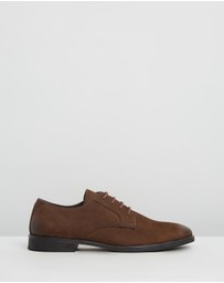 Double Oak Mills - Beamon Leather Derby Shoes