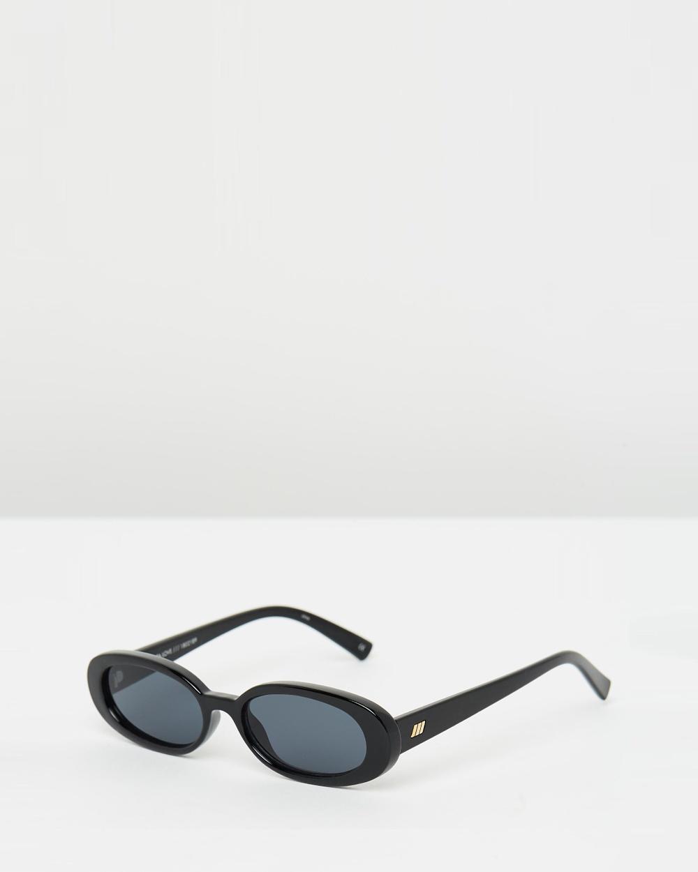 Le Specs Outta Love Sunglasses Black