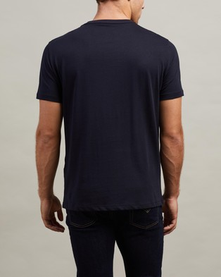 Armani Exchange T Shirt - T-Shirts & Singlets (Navy)