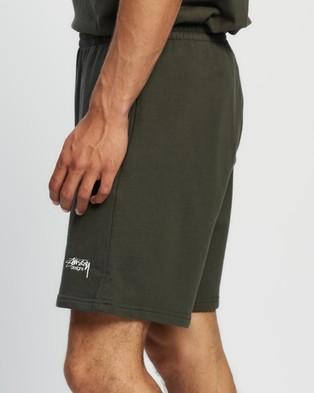 Stussy - Designs Terry Shorts - Shorts (Flight Green) Designs Terry Shorts