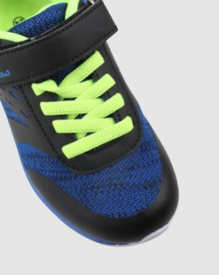 CIAO Swift Multi - Lifestyle Shoes (Black/Blue/Lime)