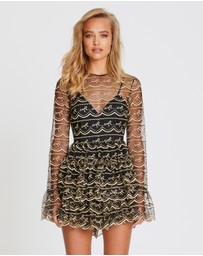 alice McCALL - Satellite Of Love Playsuit