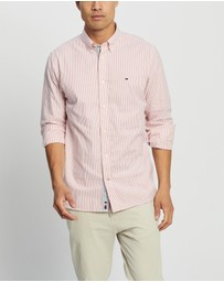 Tommy Hilfiger - Flex Refined Oxford Stripe Shirt