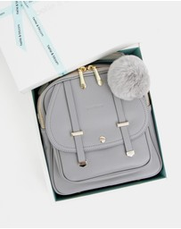 Belle & Bloom - Camila Leather Backpack Gift Pack