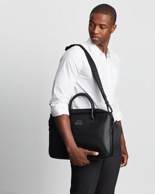 Armani Exchange Briefcase Bags Black
