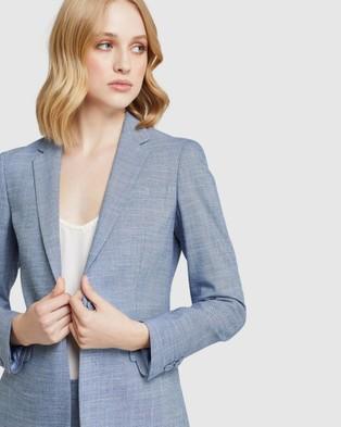 Oxford Alexa Suit Jacket - Blazers (Blue)