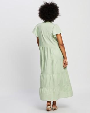 Rue Stiic Ava Maxi Dress - Dresses (Sage)