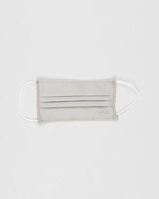 M.N.G Face Mask   2 Pack - Face Masks (Grey)