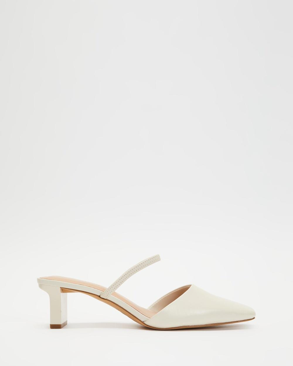 ALDO Afean Heels Mid-low heels White