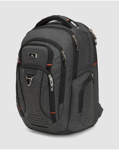 High Sierra Endeavour Elite Laptop Backpack Heather Grey