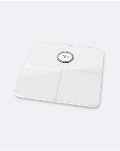 Fitbit - Fitbit Aria 2 Smart Scale White