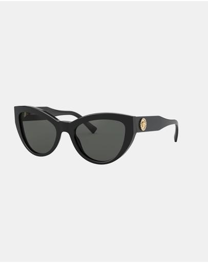 Versace Acetate Sunglasses Black