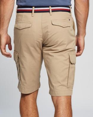 Tommy Hilfiger John Cargo Short Light Twill - Clothing (Beige)