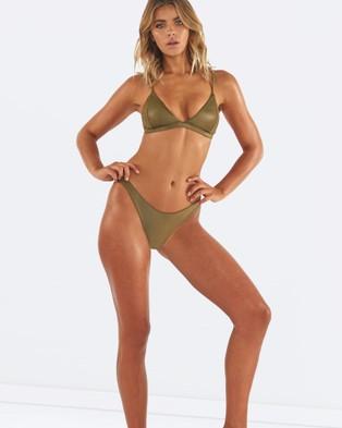 L'urv – Untamed Bikini Bottoms Green