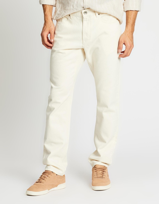 Five Pocket Twill Jeans by Jag
