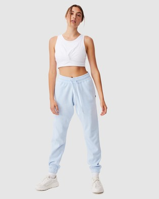 Cotton On Body Active Lifestyle Gym Track Pants - Sweatpants (Baby Blue)