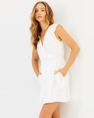 IMONNI – Tayla Cotton Dress Ivory