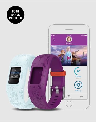 Garmin - vivofit jr 2 - Frozen Bundle