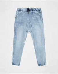 Decjuba Kids - Emerson Drop Crotch Jeans - Kids-Teens