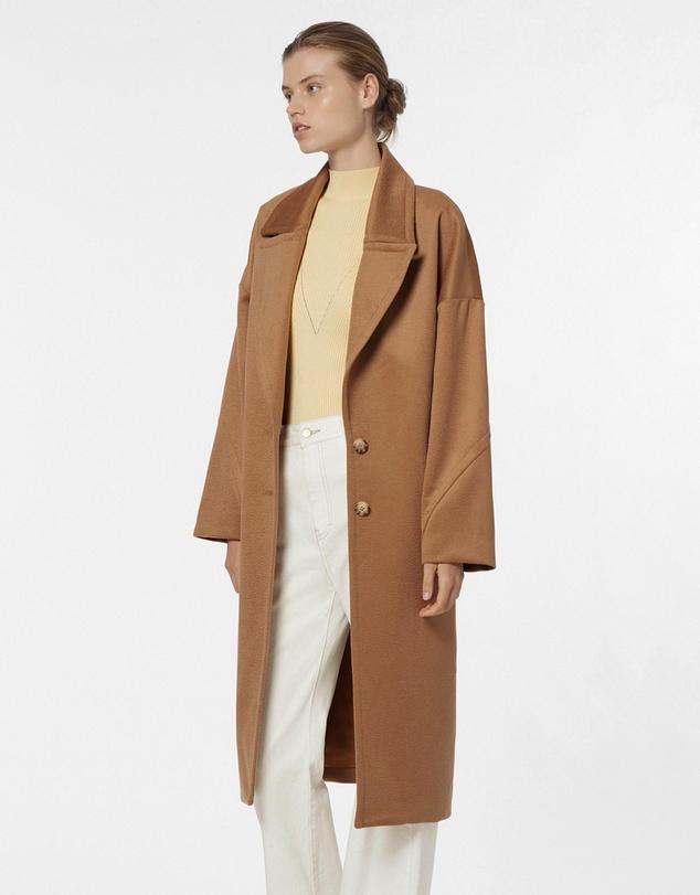 Women Cocoon Coat