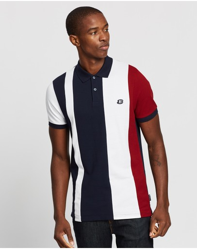 Ben Sherman - Blocked Stripe Polo