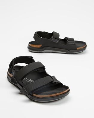 Birkenstock - Tatacoa Birko Flor Regular Men's Casual Shoes (Black) Birko-Flor