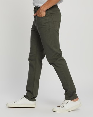 Riders by Lee Classic Straight Slim Jeans - Slim (Utility Green)