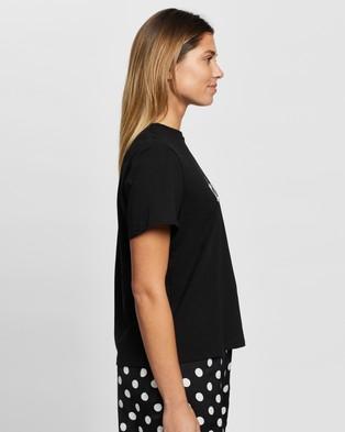 Atmos&Here Jolly Tee - T-Shirts & Singlets (Black)