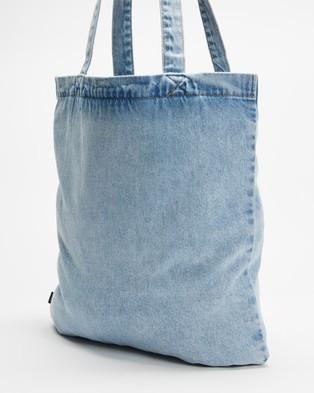 Thrills Landing Eagle Denim Tote - Bags (Thrift Blue)