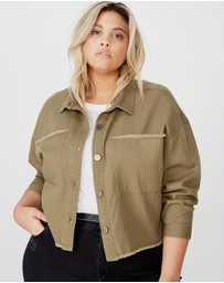 Cotton On - Curve Utility Shacket