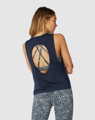 L'urv New Era Tank - T-Shirts & Singlets (Blue)