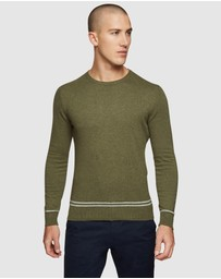 Oxford - Axel Cotton Crew Neck Pullover