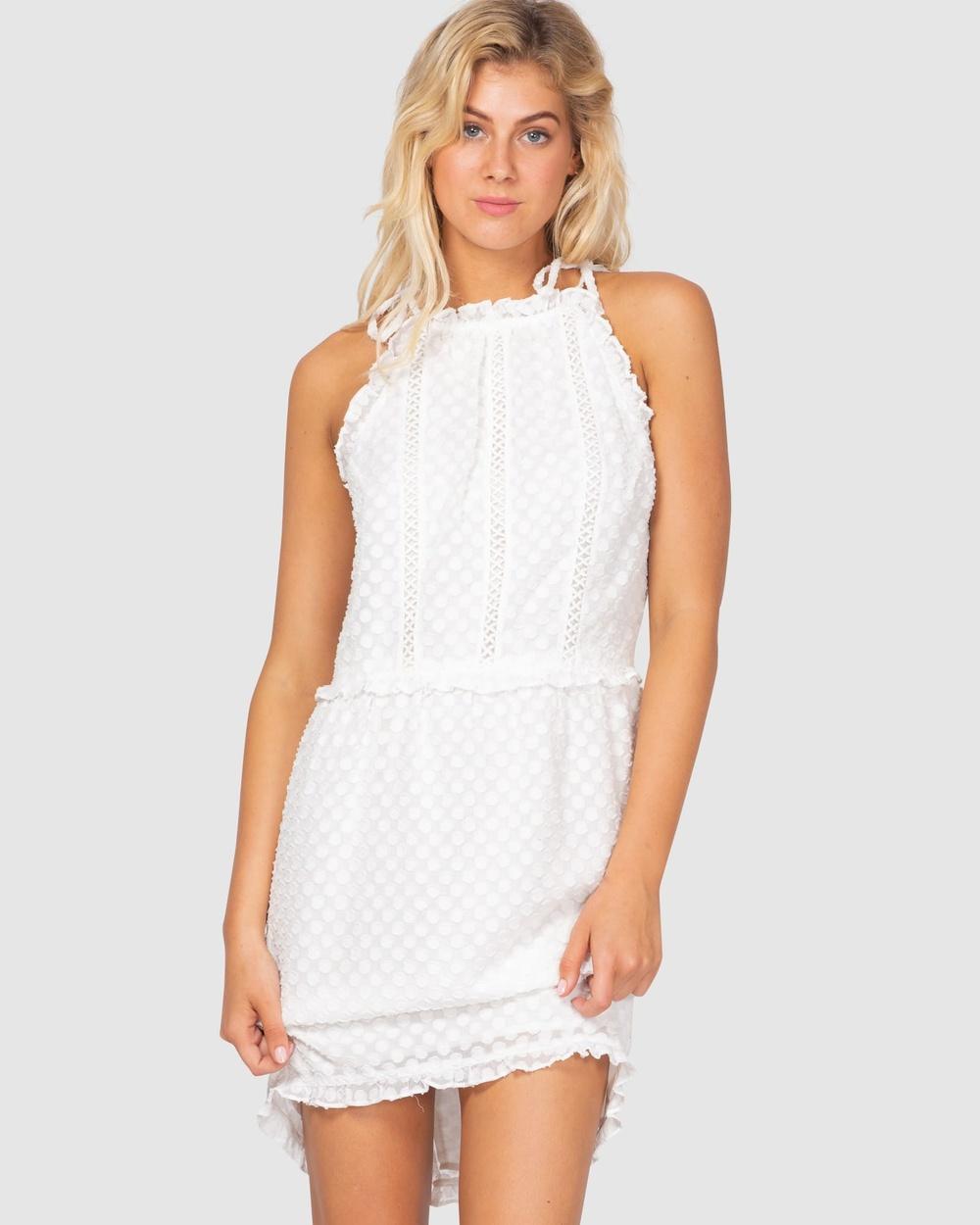 Three of Something WHITE Midnight Summer Dress