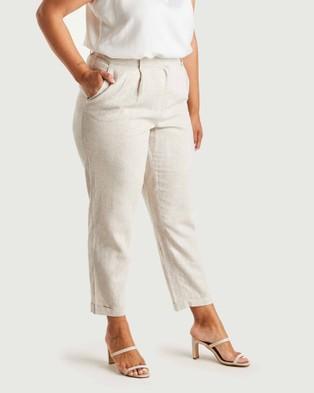 Estelle Huntington Pants - Pants (Latte)