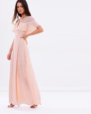 Atmos & Here – Dream Frill Maxi Wrap Dress