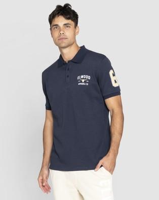Elwood Heritage Polo - Shirts & Polos (Dark Navy)