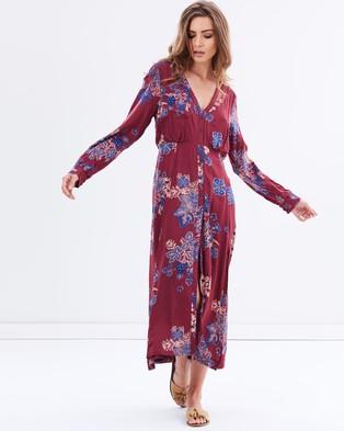 Buy Free People - Miranda Printed Midi Dress - Dresses (Multi Combo) -  shop Free People dresses online