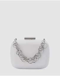 Olga Berg - STELLA Ring Chain Clutch