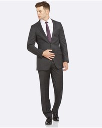 Kelly Country - PGH Wool Slim Fit Charcoal Suit
