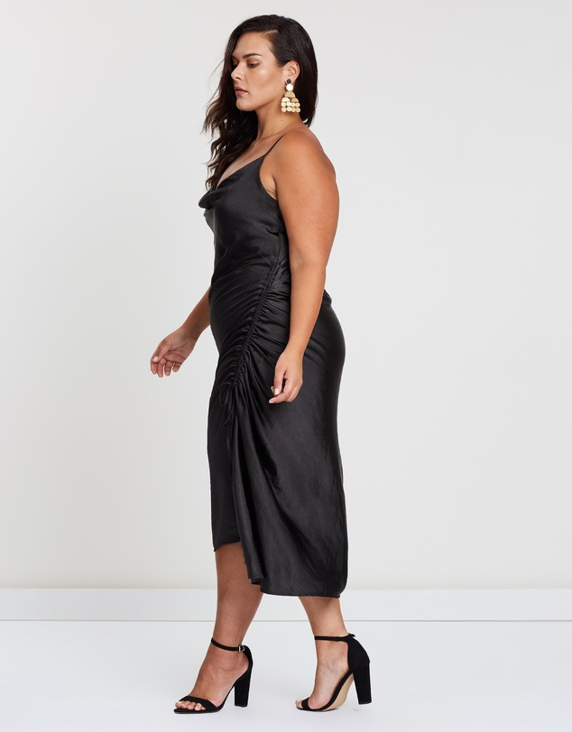 Atmos&Here Curvy - ICONIC EXCLUSIVE - Marcella Cowl Slip Dress