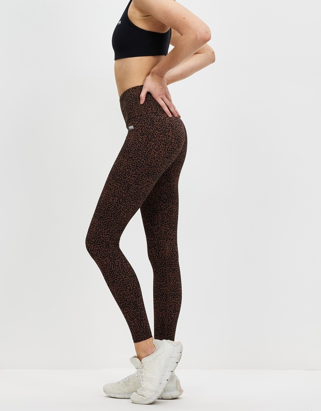 Women Ab Waisted Fight Club Full Length Tights