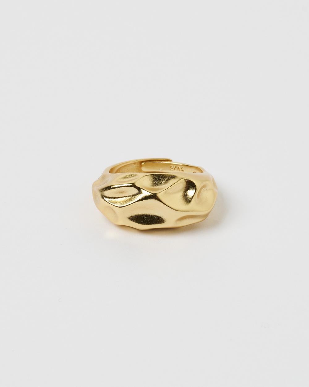 Izoa Phantom Ring Jewellery Gold