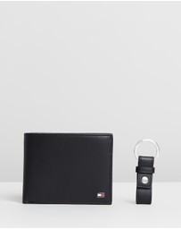 Tommy Hilfiger - Eton Flap & Coin Wallet With Key Fob