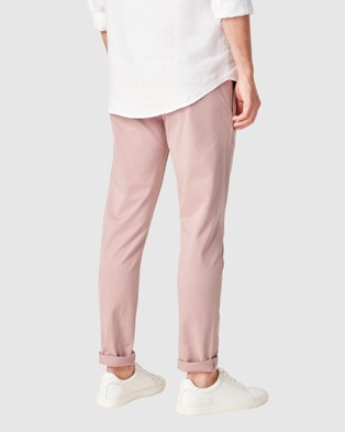 French Connection Slim Fit Chino Pant - Pants (VINTAGE PINK)